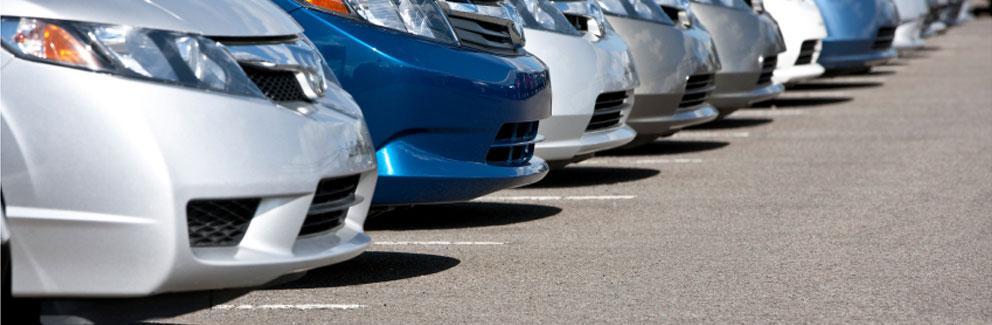 row-of-rental-cars